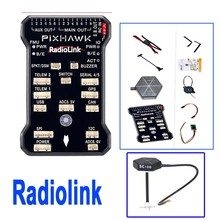 Radiolink PIX 32 Bit 4G Flight Controller & M8N GPS Combo Set for AT9/AT10 Remote Controller OSD DIY RC Multicopter Drone F17883