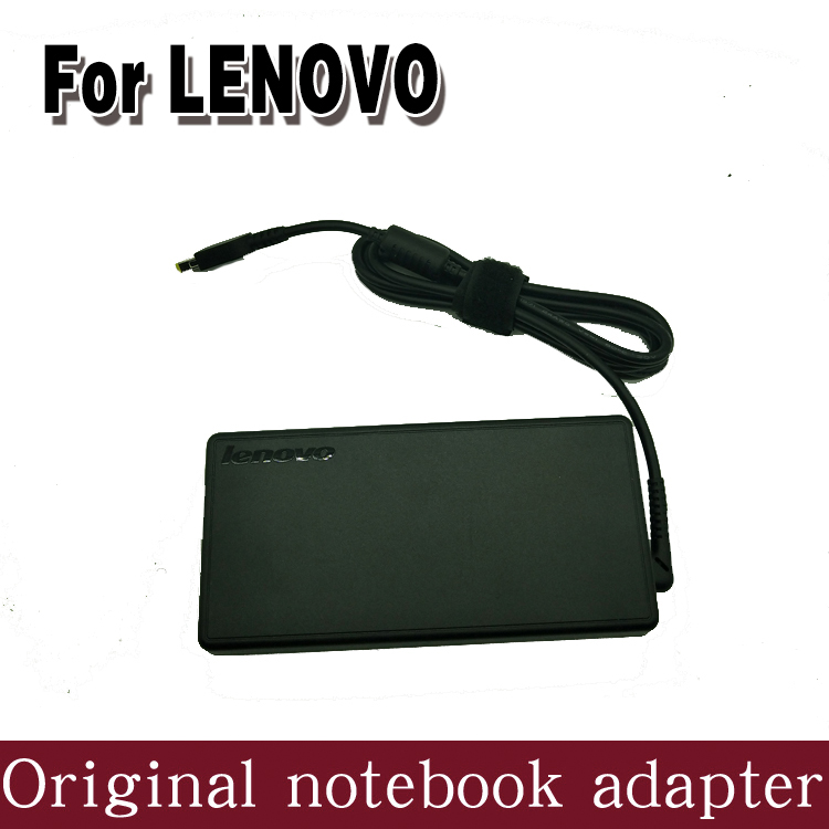 Genuine Original 170W 20V 8.5a Notebook AC Adapter Charger for Lenovo ThinkPad W541 W540 y50-70 Laptop 20v 6 75a 135w original ac adapter charger laptop power supply for lenovo thinkpad t530 t520 w530 w520 w510 3pin 45n0059 45n0055