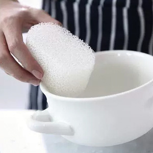 Image 2 - Esponja limpiadora de melamina resistente duradera filtro esponja mágica cocina borrador lavavajillas bola Nano Magiczna Gabka 2019 gran oferta
