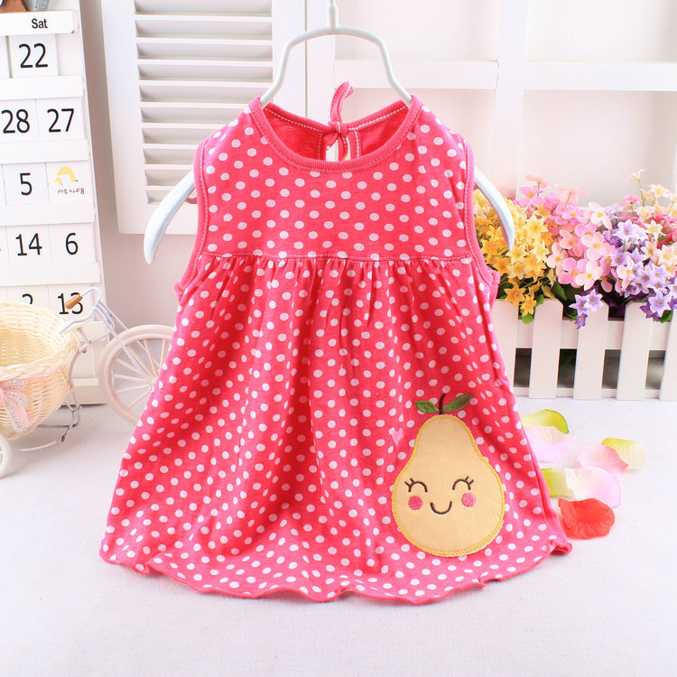 Online Shop Baby Girls Dresses Summer Baby Clothes The Cotton ...