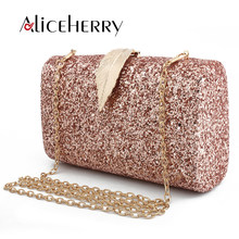 Top Grade Luxury Handbags Women Bags Designer Evening Bag Gold Silver  Sequins Clutch Bag Ladies Party Wedding Make Up Bag 532566605ac3