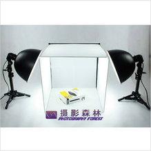 protable studio box 27cm photography light 40cm 4 background cloth photography tent without light blub Adearstudio CD50