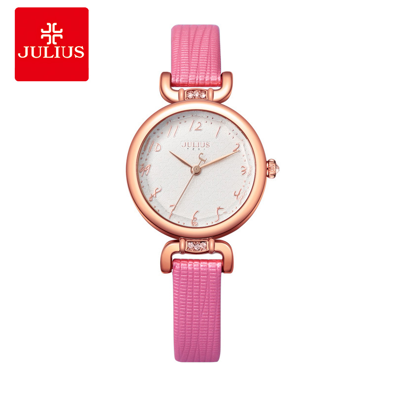 JULIUS Pink Watch For Women Jewelry Watches Small Wrist Fashion Watch Casual Brand  Women Luxury High Quality Watches JA-854 mukhzeer mohamad shahimin and kang nan khor integrated waveguide for biosensor application