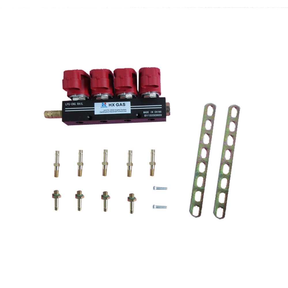 4 cylinder CNG LPG Injector Rail Super Silent high speed Common Injector Rail gas injector and accessories4 cylinder CNG LPG Injector Rail Super Silent high speed Common Injector Rail gas injector and accessories