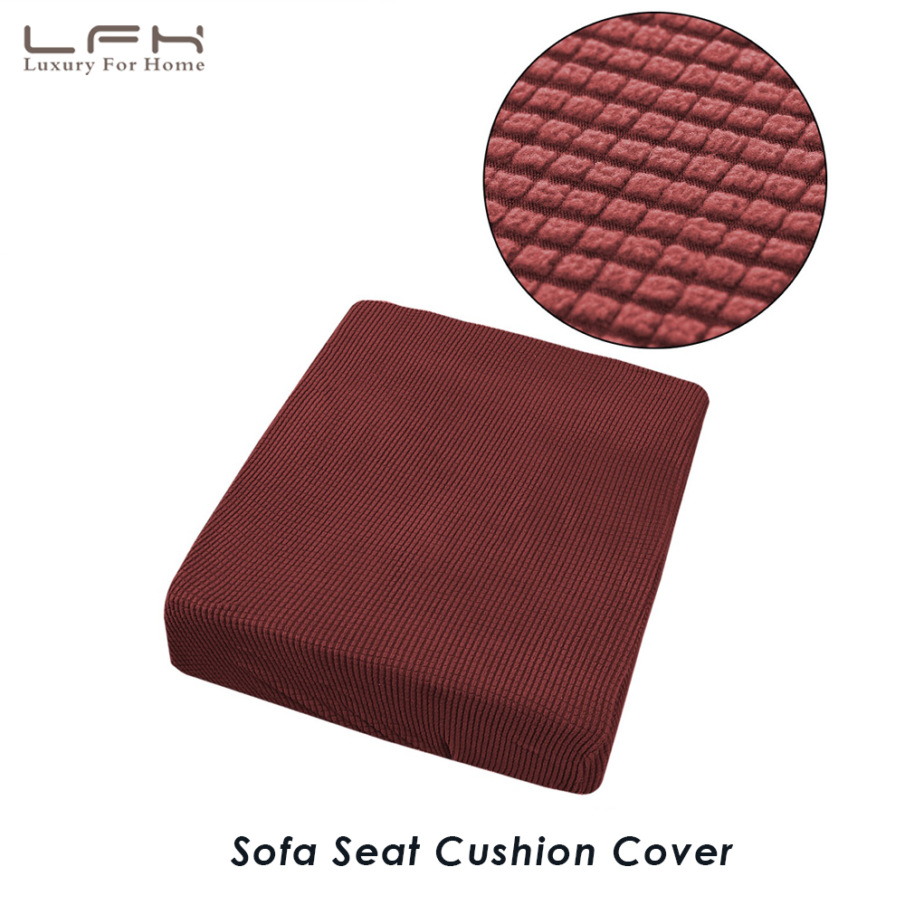 Replacement Sofa Seat Cushion Covers: LFH Stretch Sofa Cushion Cover 1PC Seat Cover For Cushion
