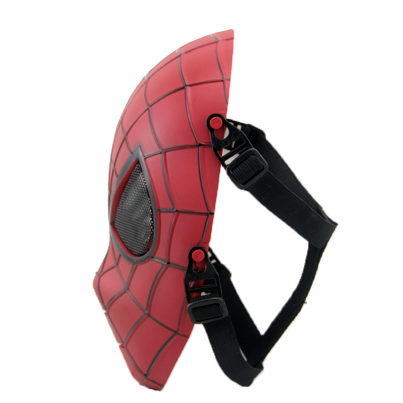 2019 New Military Tactical Outdoor Wargame Full Face Protective Mask High Quality PVC Halloween Party Spiderman Skull Mask in Boys Costume Accessories from Novelty Special Use