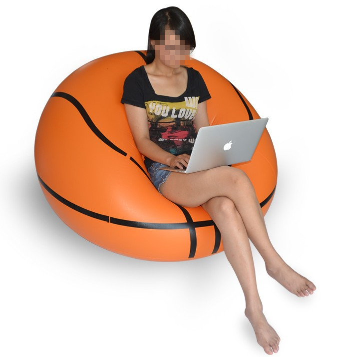 2019 New Bean Bag Chair Outdoor Sofa Velvet Basketball And Football Inflatable Sofa Cushion Sofa Cushion