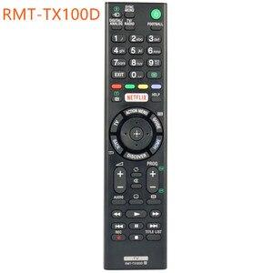 Image 3 - Uzaktan kumanda Sony RMT TX100D NETFLIX Bravia TV RMTTX100D KD 43X8301C RMT TX101J RMT TX102U RMT TX102D Fernbedienung