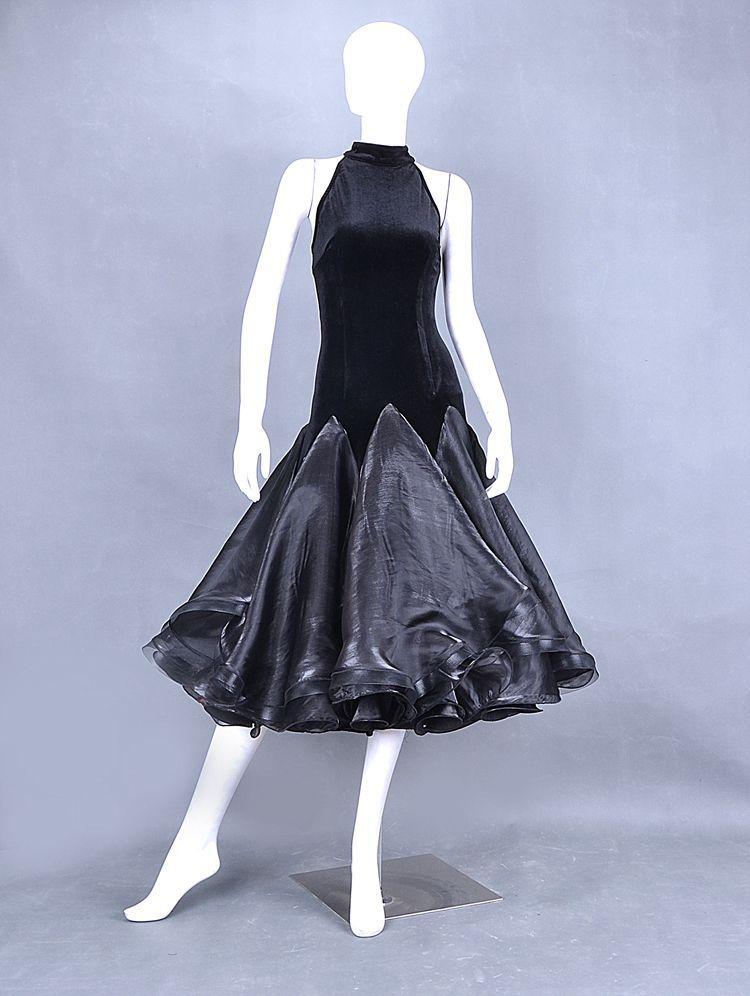 Ballroom Dance Skirts Real 2018 Hot Sale Ballroom Dance Dress World Fashion Sleeveless Waltz Tango Modern One Piece Competition