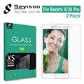 [2 Pack] 100% Seyisoo Tempered Glass Screen Protector For Xiaomi Redmi 3 Pro 3S 3X Xiomi Redmi3 S X Redmi3S Redmi3X Guard Film
