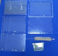 Size 00 400 Holes Manual Capsule Filling Machine Pharmaceutical Capsule Maker Filler For DIY Herbal Capsules