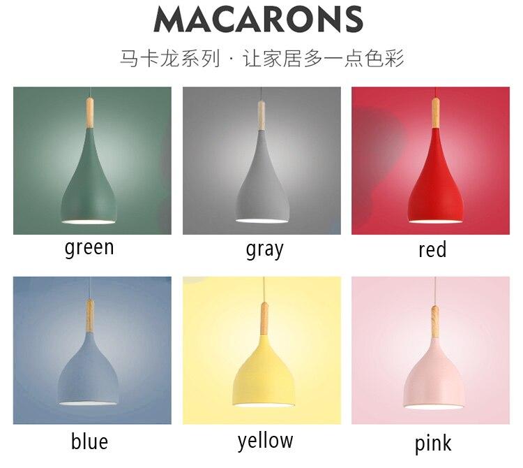 Luminária led pendente multicolorida, luminária suspensa para