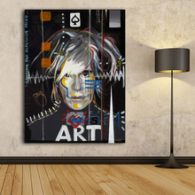 2017 Impression Oil Painting andy warhol wall painting Pop Art Wall Photo For Living Room decoration No Frame