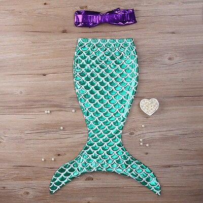 2017 Hot Sale UK Prodávající princezna Dívky Mermaid Bikiny Oblek - Dámské oblečení