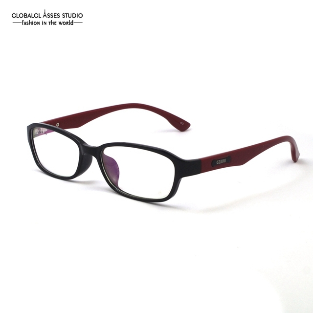 New High Quality Light Glasses Frame Hinge Black Red Patchwork clean ...