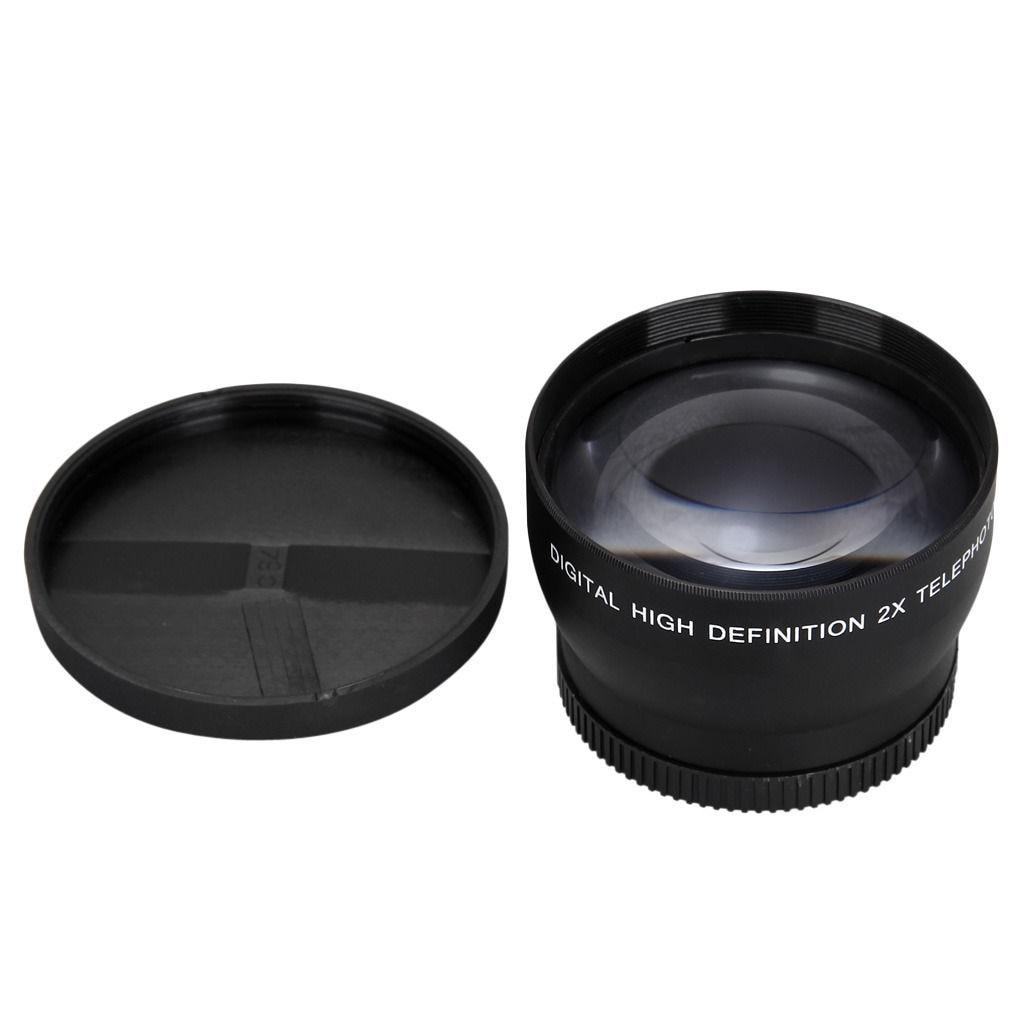 Lente de telefoto con aumento 2X de 52mm para Nikon AF-S 18-55mm - Cámara y foto - foto 4
