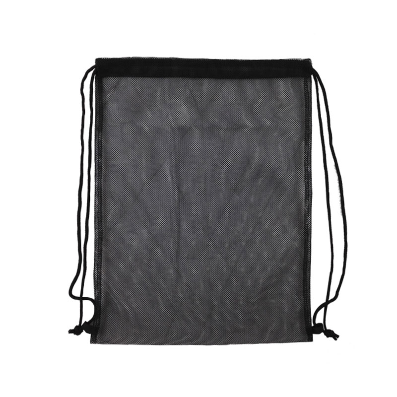 Navo Multi Use Mesh Drawstring Shoe Bags See Through Beach Bag Solid Color Backpack Ultralight Sacks Travel Totes In From Luggage On