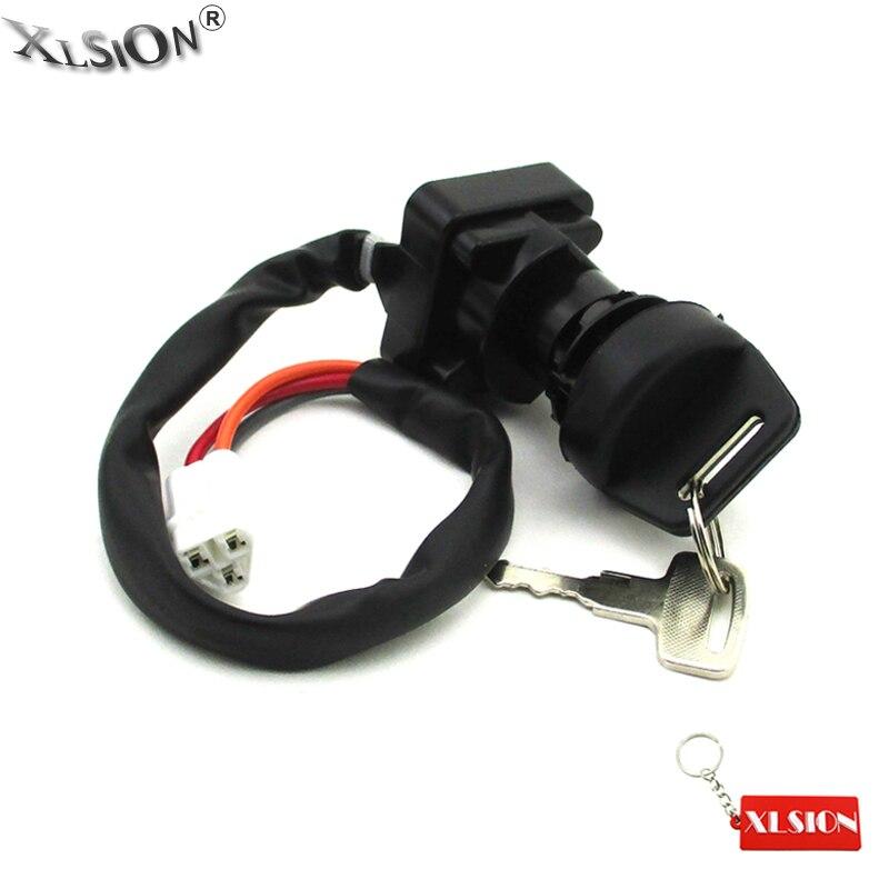 xlsion ignition key switch for 2005 2006 2007 2008 ltz400. Black Bedroom Furniture Sets. Home Design Ideas