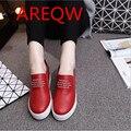 Весной 2016 новых Корейских женщин обуви толщина нижней письмо эластичный повседневная мода студент обувь b2