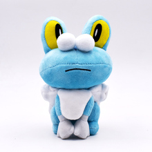 2018 New 2 Sizes 17cm 30CM  Froakie Plush Toy Doll Stuffed Toys Peluche Dolls Gifts For Children Free Shipping free shipping original rio parrot plush toys 30cm blu