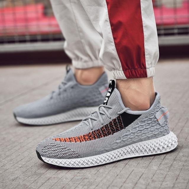 39-46 Sneakers Erkekler koşu ayakkabıları Nefes Rahat Spor spor ayakkabı Rahat Boost koşu ayakkabıları Zapatos De Mujer