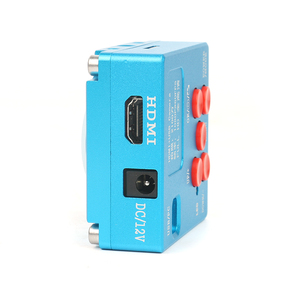 Image 2 - 30MP 2K HDMI Dijital USB Video Microscopio Kamera 3D 180X 300X ayarlanabilir C Montaj lens Led ışıkları lehimleme telefon pcb tamir
