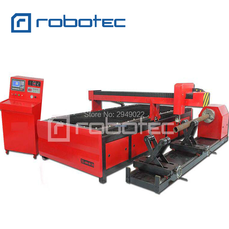 China cheap tube plasma cutting machine/ plasma cutter for metal tube