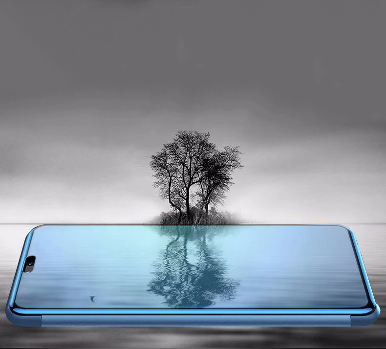 Tree - Mirror Flip Case For Huawei P Smart P20 P10 Mate