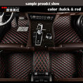Custom Car floor mats Case for Toyota Camry Corolla RAV4 Mark X Crown Verso Cruiser car-styling leather Anti-slip carpet liners