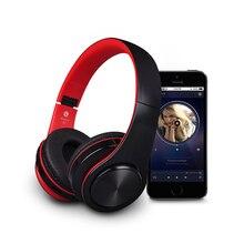Sans Fil Casque Bluetooth Fones De Ouvido Sem Fio Fone de Ouvido Esportes Portátil dobrável do bluetooth Para O Telefone MP3 PC TV TF Rádio FM USB AUX