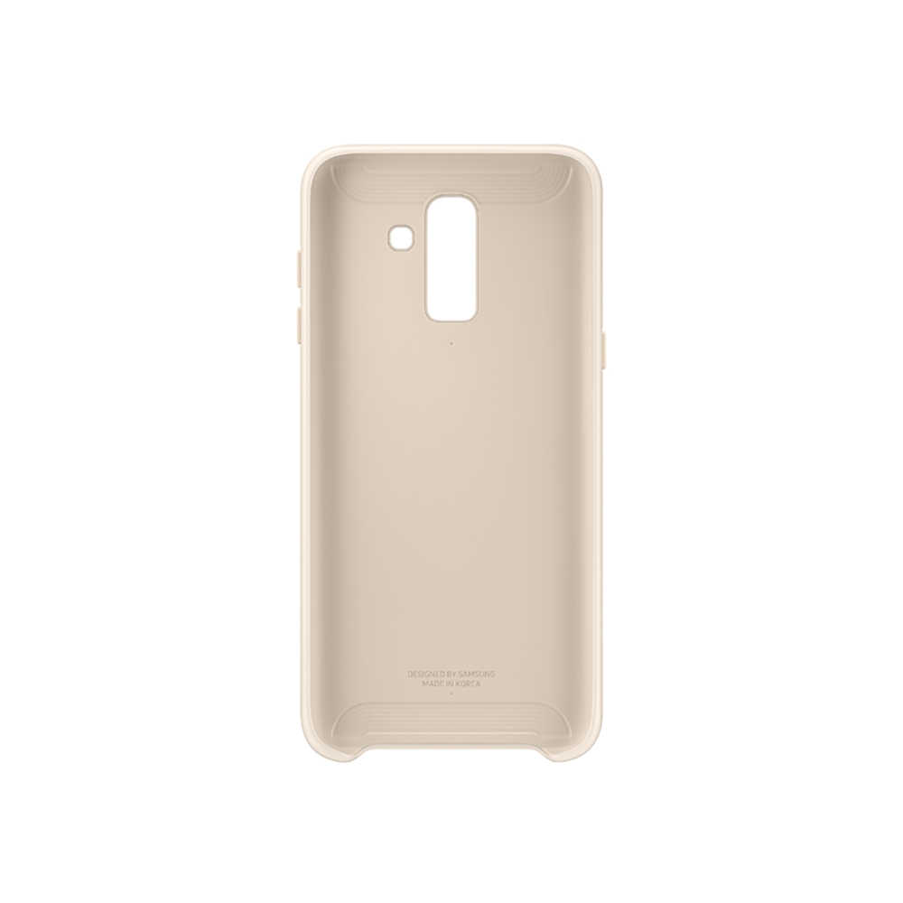 Чехол-накладка Samsung EF-PJ810C Dual Layer Cover для Galaxy J8 (2018) чёрный