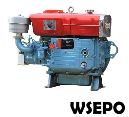Factory Direct Supply! WSE-ZS1105 16HP Single Cylinder Water Cooled 4-stroke Diesel Engine Electric Start Optional