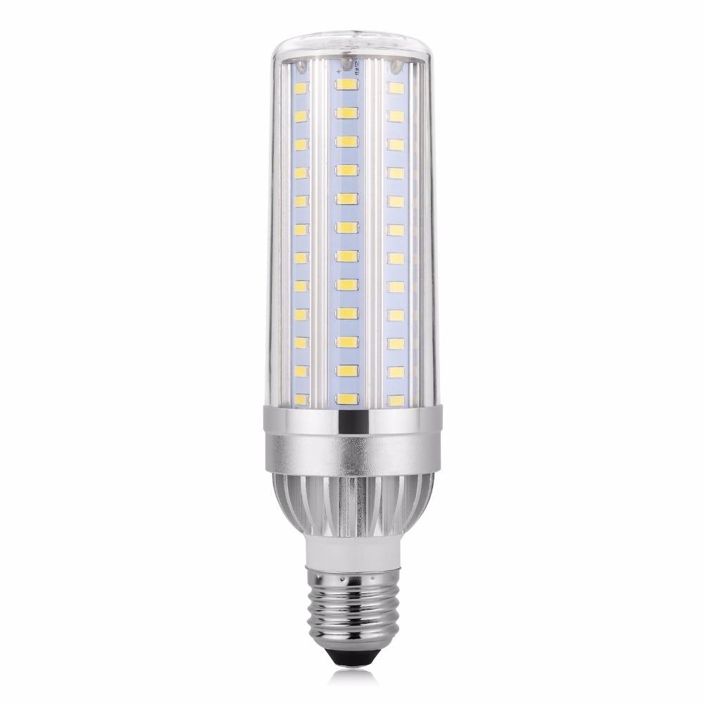 25W 35W 45W High Power LED E27 AC85-265V Lamps E26 Aluminum Corn Bulbs SMD5730 220V Light No Flicker Fan Cooling 110V Lampadas 50w high power energy saving 220v smd5730 ufo flat lampadas lampa led e27 bulbs lamp tri proof indoor umbrella spotlight