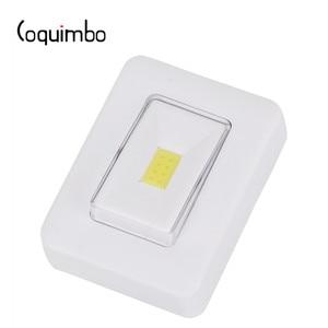 Image 2 - Coquimbo монолитный блок светодиосветодиодный, магнитный переключатель, Ночной светильник, супер яркий, работает от батарейки, в любом месте, ночная настенная лампа для кровати