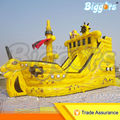 Cheap Price Inflatable Priate Ship Bouncer With Free Blower For Sale