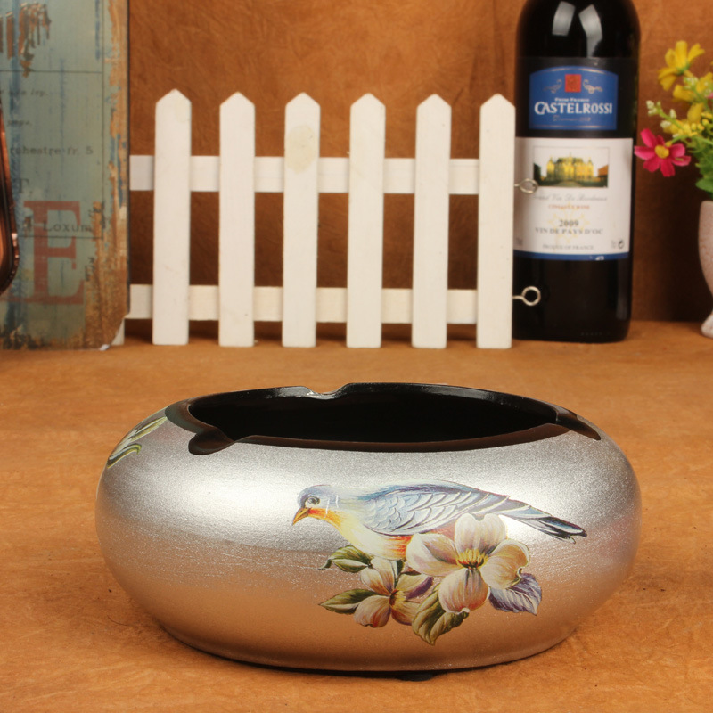 European-style ceramic ashtray ashtray personalized home dcor living room ornaments crafts gifts wholesale -158Y