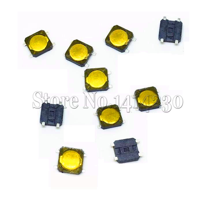 10PCS 3*3*0.8mm 3x3x 0.8MM 3x3X0.8mm Tactile Push Button Switch Tact 4 Pin SMT Switch Micro Switch SMD