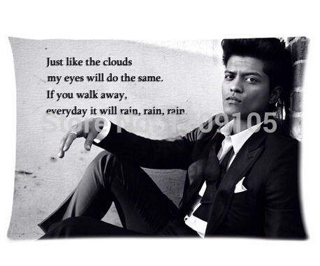 Bruno Mars Quotes Unique Bruno Mars Quotes 48x48cm Pillow Cover Cheap Pillowcases For
