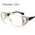 Sol Estrela de Grandes Dimensões Do Vintage Óculos De Sol Das Mulheres Dos Homens Designer de Marca de Luxo Quadrados Óculos De Sol lunette de soleil óculos Shades UV400