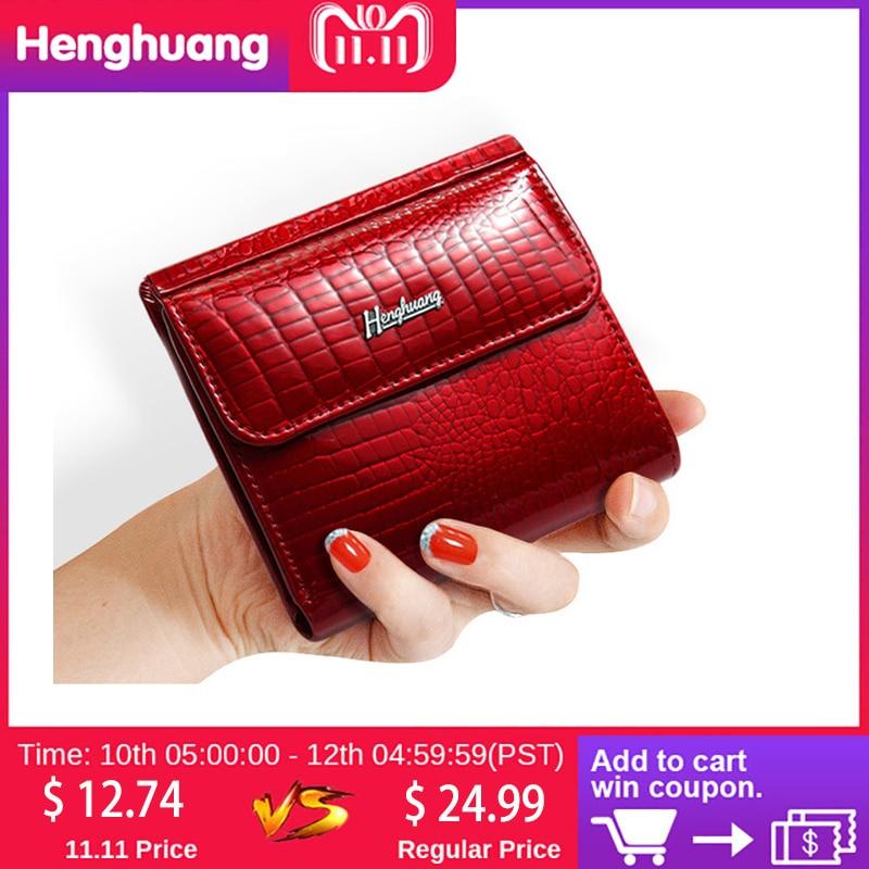 HH Slim Genuine Leather Women Wallets Mini Wallet Women Short Clutch Luxury Female Purse Coin Purses Card Holder Lady's Coin Bag все цены