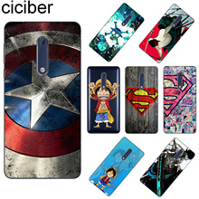 ciciber For Nokia 8 8.1 7 7.1 6 6.1 5 5.1 3 3.1 2 2.1 1 Plus Soft TPU Phone Case X7 X6 X5 X3 Marvel One Piece Coque