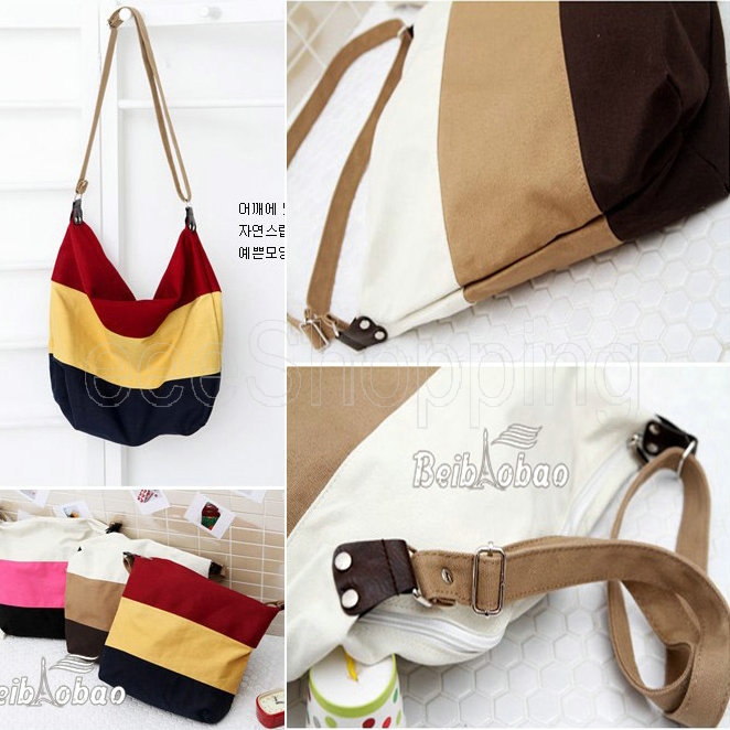 Aliexpress.com : Buy HP090 2014 Women Ladies Canvas Patchwork ...