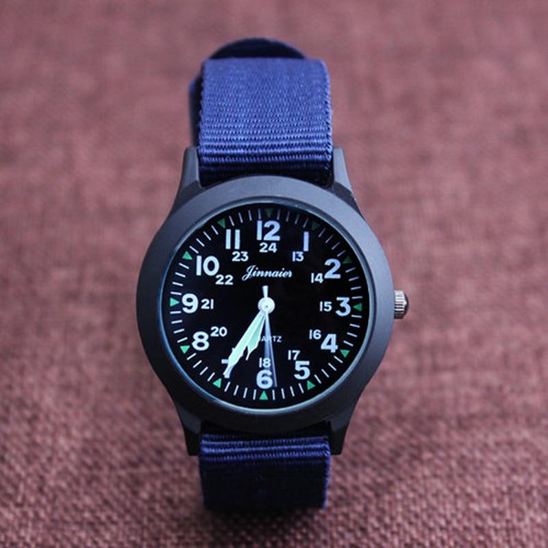 2019 JINNAIER New Famous Brand Men Children Boys Girls Fashion Cool Quartz Saber Watches Students Canvas Electronic Wrist Watch