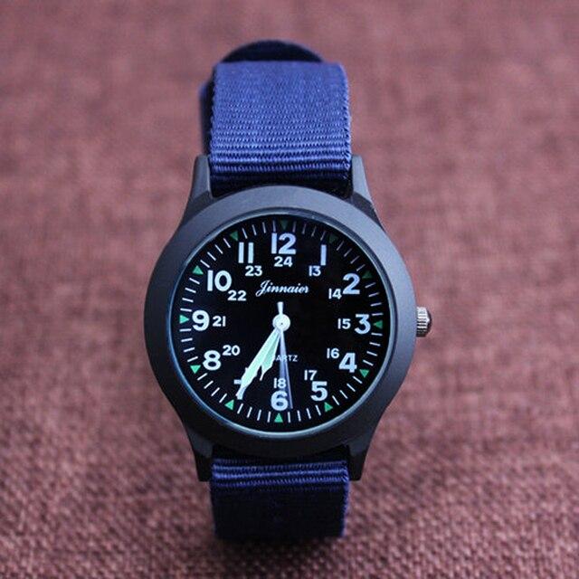 2019 JINNAIER Новый известный бренд для мужчин, детей, мальчиков и девочек, модные крутые кварцевые часы, студенческие холщовые электронные наручные часы