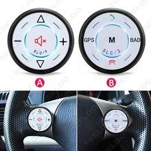 Автомобилей Беспроводной Руль Контроллер Bluetooth Телефона Основные Кнопки Для Автомобиля Андроид DVD/GPS Навигации Игрока #2780
