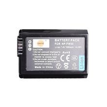DSTE Batteria di Ricambio per NP FW50 Li Ion Compatibile Sony Alpha 7 7R 7R II 7S a7R a7S a7R II a5000 a6000 a6100 a6400 a6500
