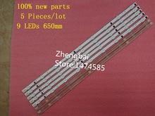 5 pieces/lot 100%New UA32F4088AR CY-HF320AGEV3H UE32F5000 UA32F4000AR LED strip D2GE-320SC0-R3 2013SVS32H 9LEDs 650mm 25300A