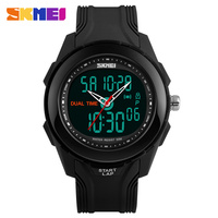 Men Sports Watches SKMEI Luxury Brand Analog Quartz And LED Digital Outdoor Waterproof Watches Mens Military