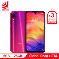 Official Global Rom Xiaomi Redmi Note 7 Pro 6GB RAM 128GB ROM Octa Core Processor 48MP IMX586 Camera 4000mAh Smartphone
