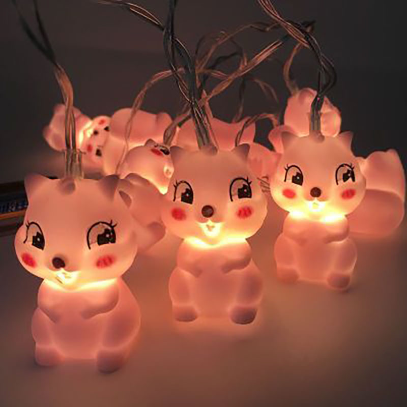 Christmas LED Pet Squirrel String Light Battery Operated Fairy Lights 10 LED Fantastic Lights for Bedroom Baby Room Decoration